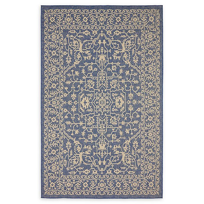 Alternate image 1 for Allover Indoor/Outdoor Area Rug in Blue