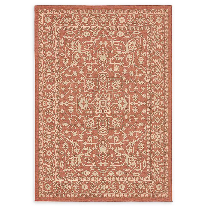 Alternate image 1 for Terracotta Indoor/Outdoor 7' x 10' Area Rug in Pink/Orange