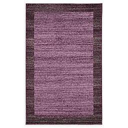 Del Mar 3' x 5' Area Rug in Violet