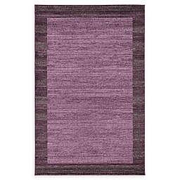 Del Mar 5' x 8' Area Rug in Violet