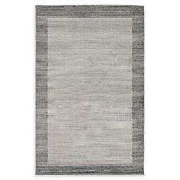 Unique Loom Del Mar Rug in Light Grey