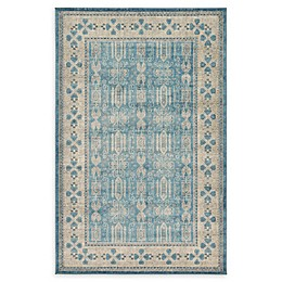 Unique Loom Salzburg Rug in Light Blue