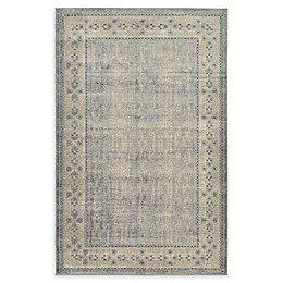 Unique Loom Salzburg Power-Loomed Rug in Grey