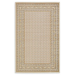 Unique Loom Tribeca Power-Loomed Area Rug in Beige