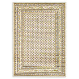 Unique Loom Tribeca 7' x 10' Power-Loomed Area Rug in Beige
