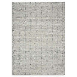 Magnolia Home by Joanna Gaines Elliston Handcrafted Rug in Light Grey