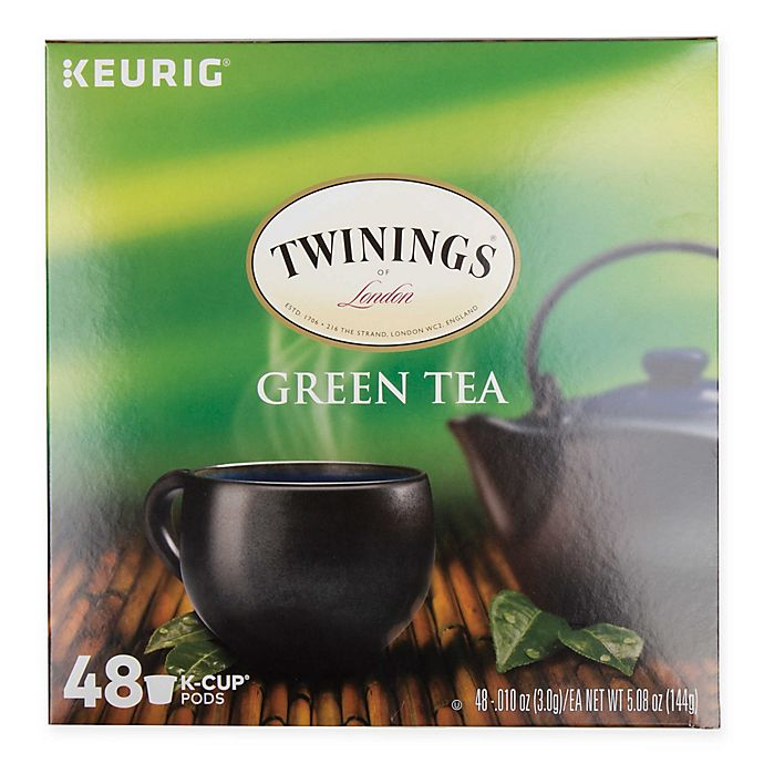 Alternate image 1 for Twinings of London® Green Tea Pods for Single Serve Coffee Makers 48-Count