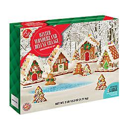 Winter Wonderland Deluxe Village Gingerbread Kit