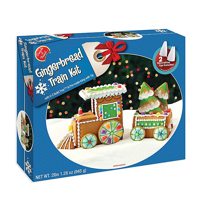 Alternate image 1 for Create a Treat™ Gingerbread Train Kit