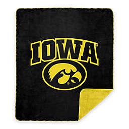 University of Iowa Denali Sliver Knit Throw Blanket
