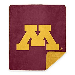 University of Minnesota Denali Sliver Knit Throw Blanket