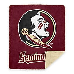 Florida State University Denali Sliver Knit Throw Blanket