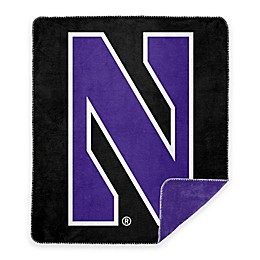 Northwestern University Denali Sliver Knit Throw Blanket
