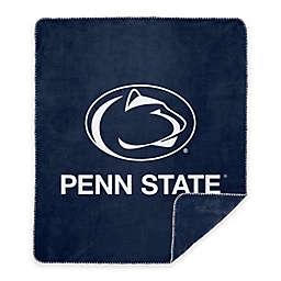 Penn State University Denali Sliver Knit Throw Blanket