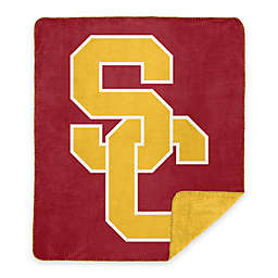 University of Southern California Denali Sliver Knit Throw Blanket