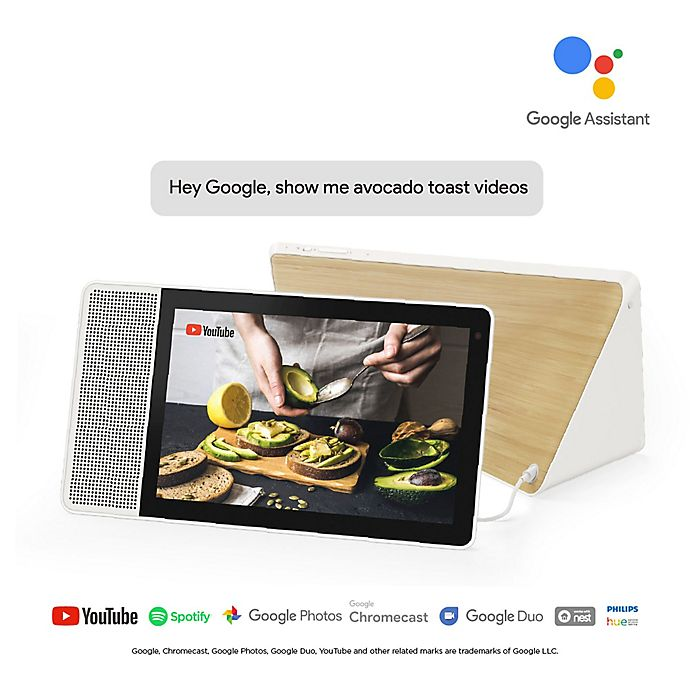 Alternate image 1 for Lenovo® Smart Display with the Google Assistant