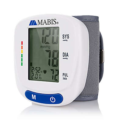 Mabis Wrist Blood Pressure Monitor