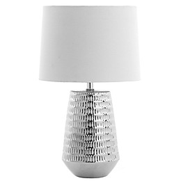 Safavieh LED 18-Inch Table Lamp with White Shade