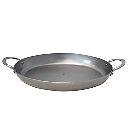 de Buyer Mineral B Element 14-Inch x 9.5-Inch Oval Roasting Pan