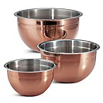 Tramontina® Limited Editions 3-Piece Copper Clad Mixing Bowl Set