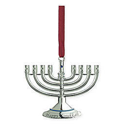Northlight Hanukkah Menorah Ornament in Silver