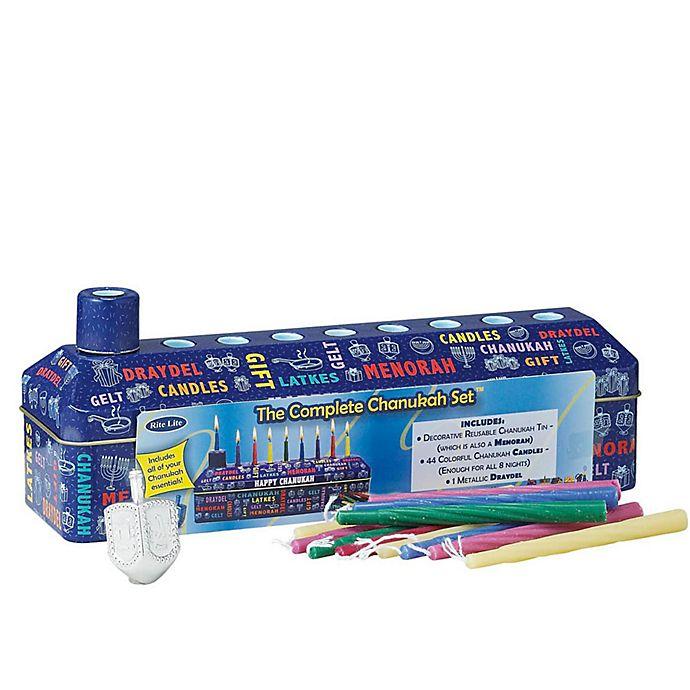Alternate image 1 for Rite Lite Complete Hanukkah Kit
