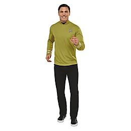 Star Trek Captain Kirk Men's Deluxe Halloween Costume Shirt