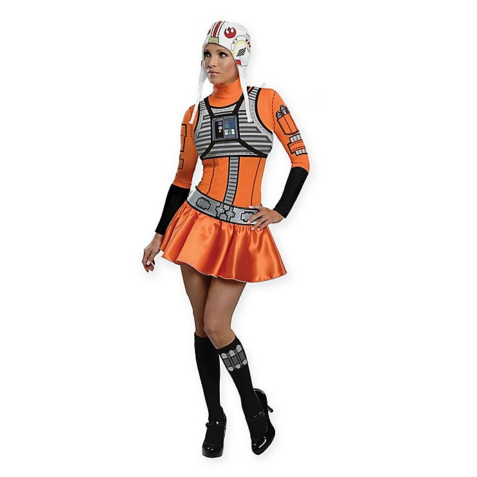 Star Wars™ X-Wing Fighter Pilot Women s Adult Halloween Costume ... 4b80fdaaea