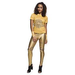 Star Wars™ C-3PO Rhinestone T-Shirt Women's Halloween Costume
