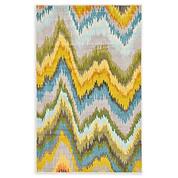 Unique Loom Barcelona Power-Loomed Multicolor Area Rug