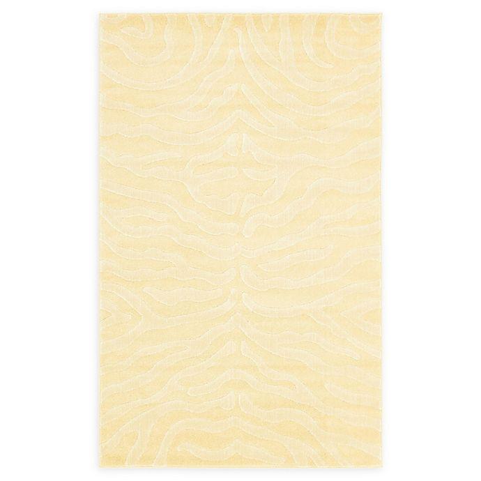 Alternate image 1 for Unique Loom Safari 5' x 8' Power-Loomed Area Rug in Cream