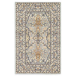 Unique Loom Heritage Power-Loomed Rug in Silver