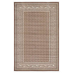 Unique Loom Tribeca Power-Loomed Area Rug in Brown