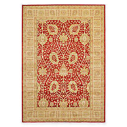 Unique Loom Adel Heritage 7'x10' Power-Loomed Area Rug in Red