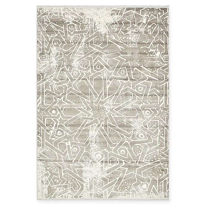 Alternate image 1 for Arcadia Astra 7' x 10' Area Rug in Grey