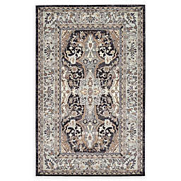 Unique Loom Amaryllis Heritage Rug in Charcoal