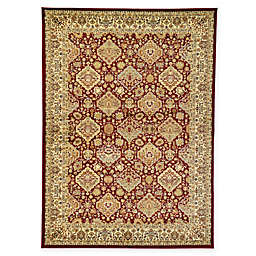 Unique Loom Colonial Agra 7' x 10' Area Rug in Red