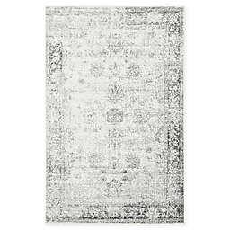 Unique Loom Casino Sofia Power-Loomed Rug in Grey