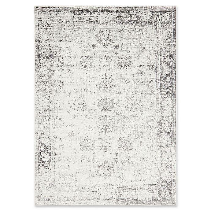 Alternate image 1 for Unique Loom Casino Sofia 7' x 10' Power-Loomed Area Rug in Grey