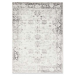 Unique Loom Casino Sofia 7' x 10' Power-Loomed Area Rug in Grey
