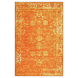 Unique Loom Sofia Rug in Orange