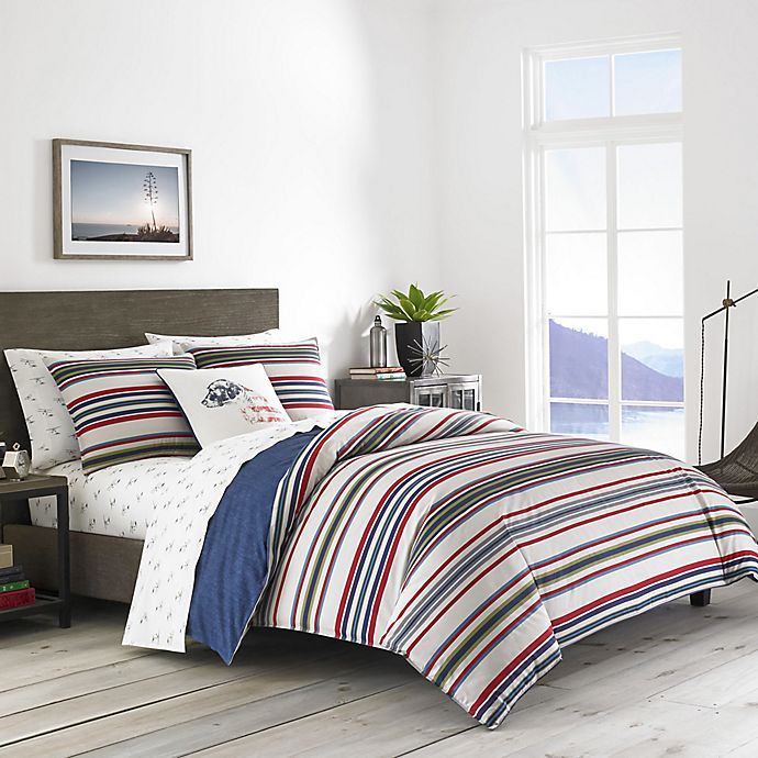 Alternate image 1 for Eddie Bauer® Brewster Stripe Comforter Set