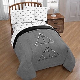 Harry Potter Deathly Dark Twin/Full Comforter