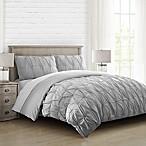 Hanover Full/Queen Comforter Set in Grey