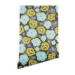 Deny Designs Heather Dutton Katrien Peel & Stick Wallpaper in Grey