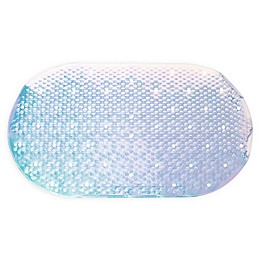 "27.56"" x 15.16"" Safety Tub Mat in Iridescent"