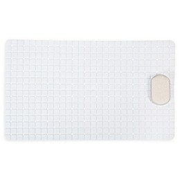Bath Bliss Pumice Stone Bath Mat in White