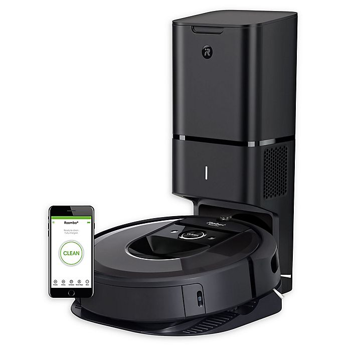 Alternate image 1 for iRobot® Roomba® i7+ Wi-Fi® Connected Robot Vacuum with Auto Dirt Disposal (7550)