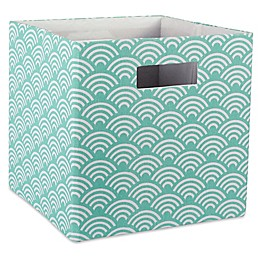 Design Imports Wave 11-Inch Storage Cube