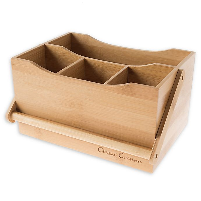 Alternate image 1 for Classic Cuisine Flatware Caddy